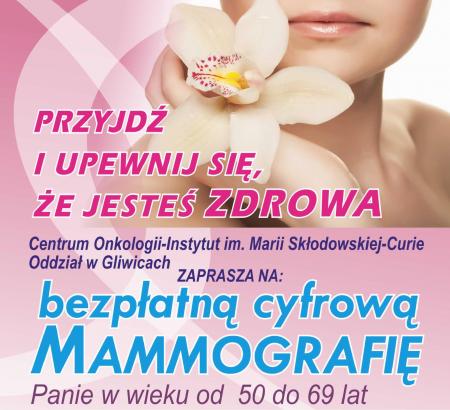 BEZPŁATNA MAMMOGRAFIA W RADLINIE!